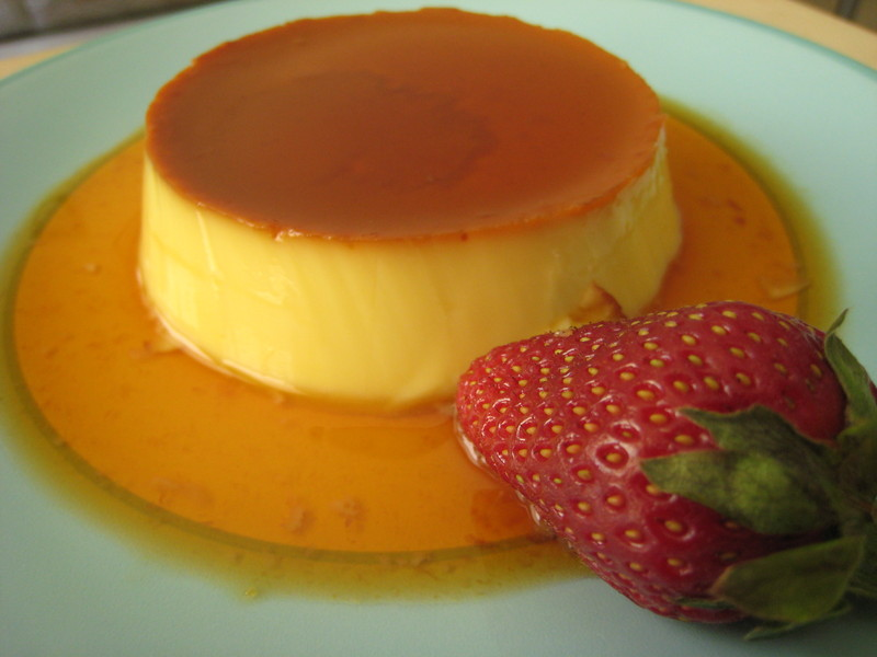 Spain+Desserts+Flan ... orange flan baked flan flan with lavender ...